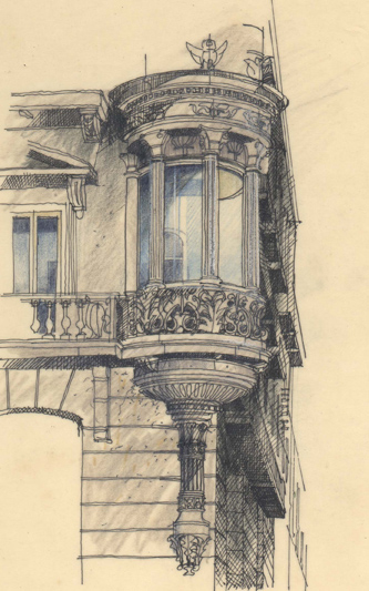 David Wardman, Corner window, Barcelona